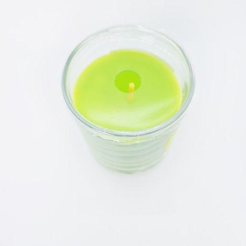 Yeşil Elma Kokulu Bardak Mum 1 Adet, fiyatı