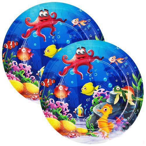 Deniz Canlıları Tabak 8 adet, fiyatı