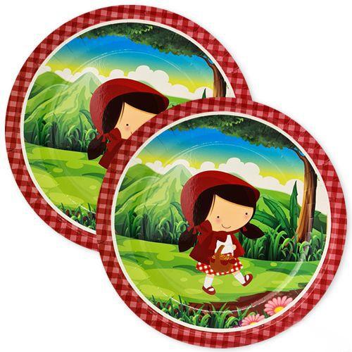 Kırmızı Başlıklı Kız Tabak 8 adet, fiyatı