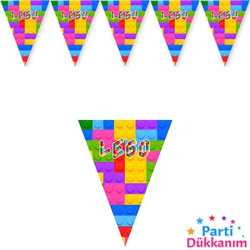 Lego Temalı Flama Bayrak 2 Metre, fiyatı