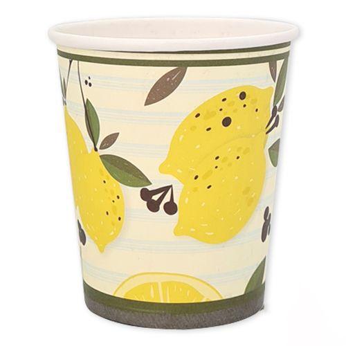 Limon Temalı Bardak 8 adet, fiyatı