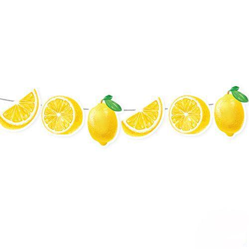 Limon Temalı Dekoratif Banner 140x17 cm, fiyatı
