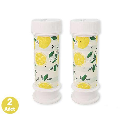 Limon Temalı Hediyelik Köpük Baloncuk 2 adet, fiyatı
