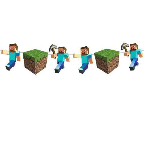 Minecraft Dekoratif Banner 160x17 cm, fiyatı