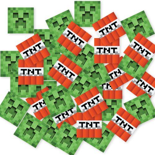 Minecraft Masa Konfetisi 50 Adet, fiyatı