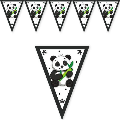 Panda Flama Bayrak 2 Metre, fiyatı