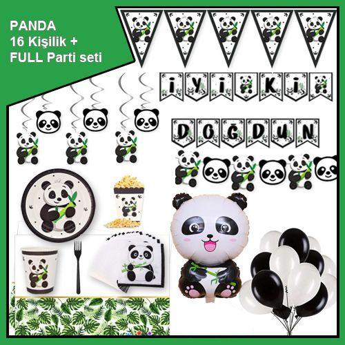 Panda 16 Kişilik + Full Parti Seti, fiyatı