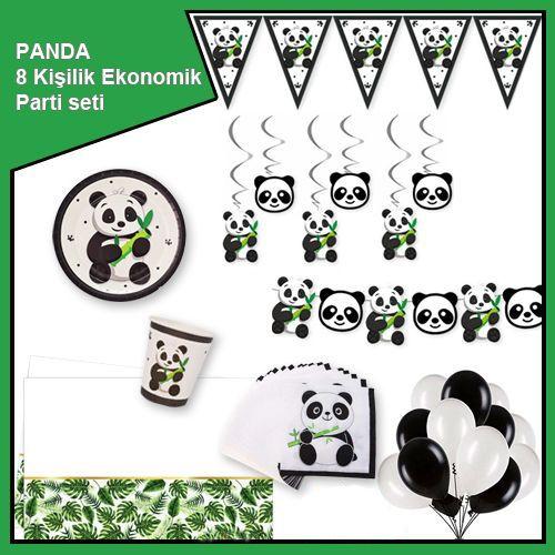 Panda 8 Kişilik Ekonomik Parti Seti, fiyatı