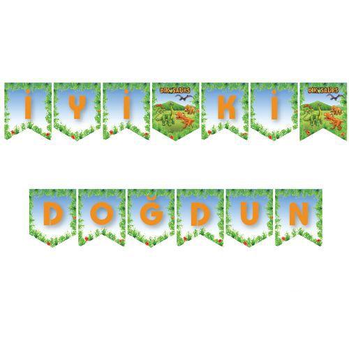 Sevimli Dinozor İyi ki Doğdun Yazısı 190 cm, fiyatı