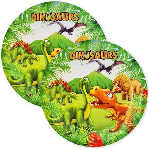 Sevimli Dinozor Tabak 8 adet, fiyatı