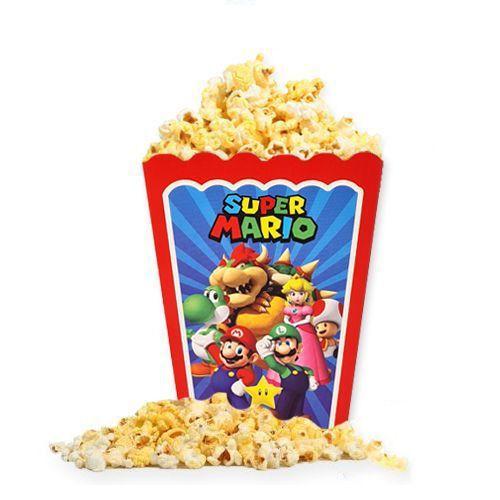 Süper Mario Mısır Kutusu 8 Adet, fiyatı