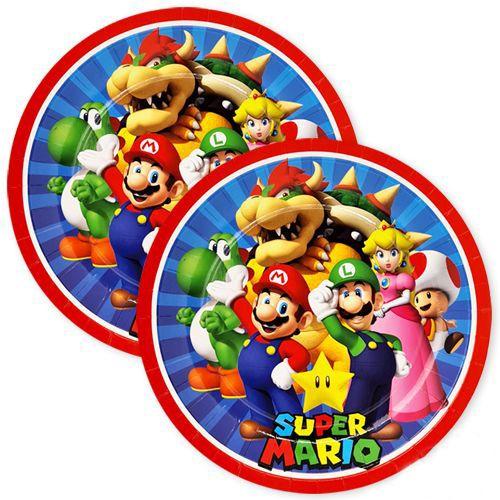 Süper Mario Tabak 8 adet, fiyatı
