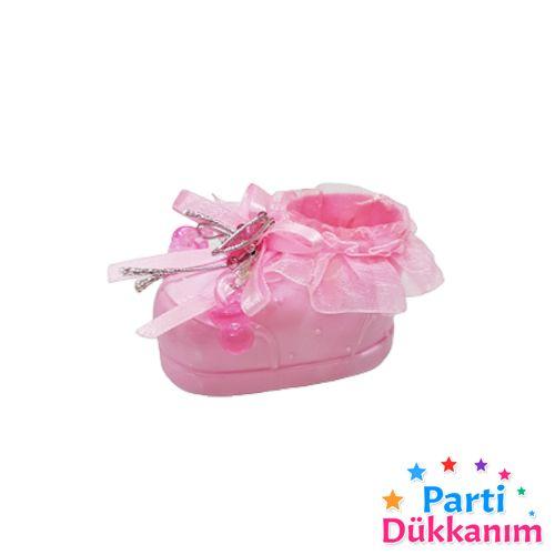 Bebek Hediyelik Papuç Kese Pembe 8 adet, fiyatı