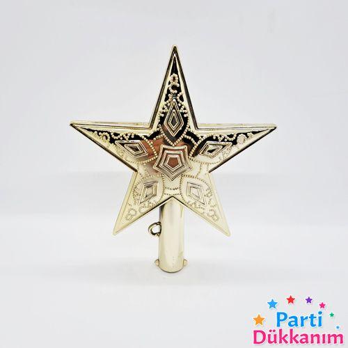 Yılbaşı Ağacı Tepe Süsü Yıldız 1 adet 14 cm, fiyatı