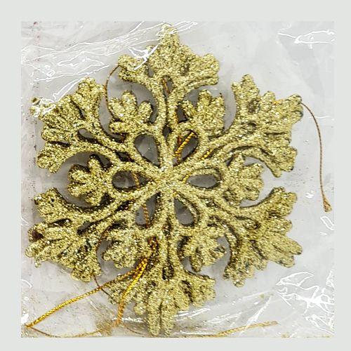 Yılbaşı Simli Kar Tanesi Süs 3 Adet 10 cm, fiyatı