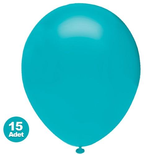 Açık Turkuaz Balon 15 Adet, fiyatı