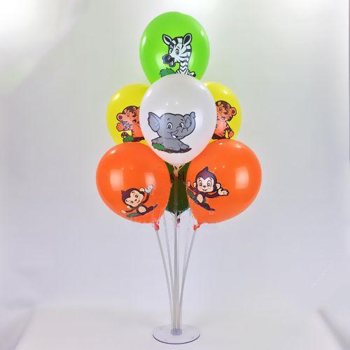 Safari Baskılı Balon Standı