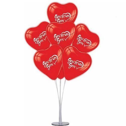 Seni Seviyorum Kalpli Balon Standı, fiyatı