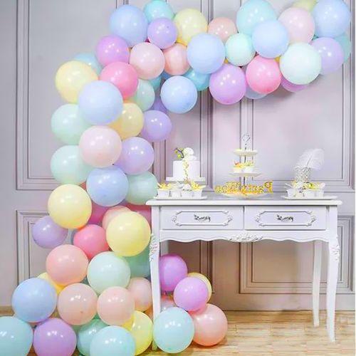 Balon Zinciri - Karışık Makaron 100 adet, fiyatı