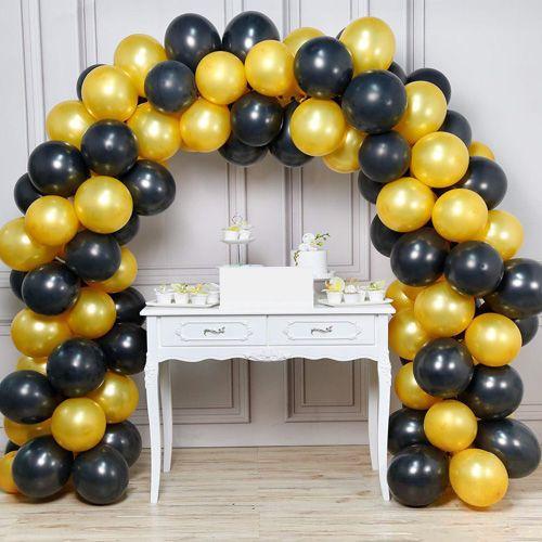 Balon Zinciri - Gold Siyah 200 Adet, fiyatı