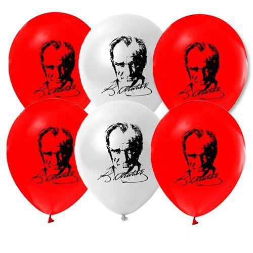 Atatürk Baskılı Balon (15 adet), fiyatı