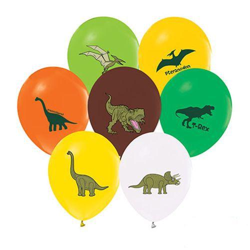 Jurassic Dinozor Baskılı Balon 15 adet, fiyatı