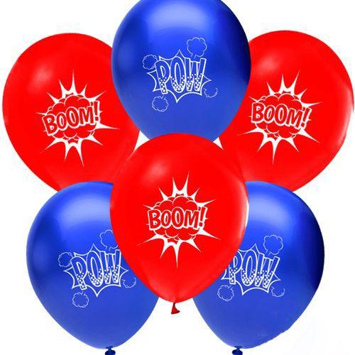 Superhero Comics Balon 10 adet, fiyatı