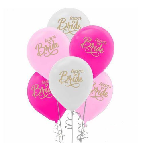 Team Bride Baskılı Balon 15 adet