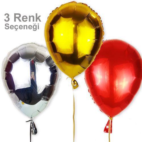 Uçan Balon Şeklinde Folyo Balonlar (45 cm), fiyatı