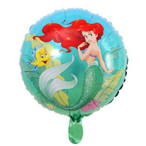 Deniz Kızı Ariel Folyo Balon 45 cm, fiyatı