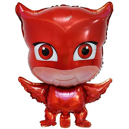 Pijamaskeliler Baykuş Kız Folyo Balon 1 Adet, fiyatı
