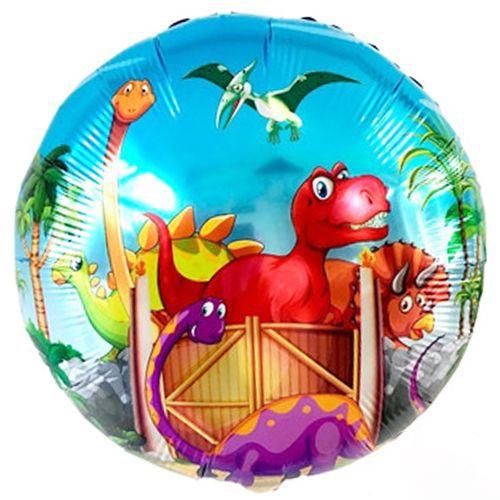 Dinozor Folyo Balon 45 cm, fiyatı