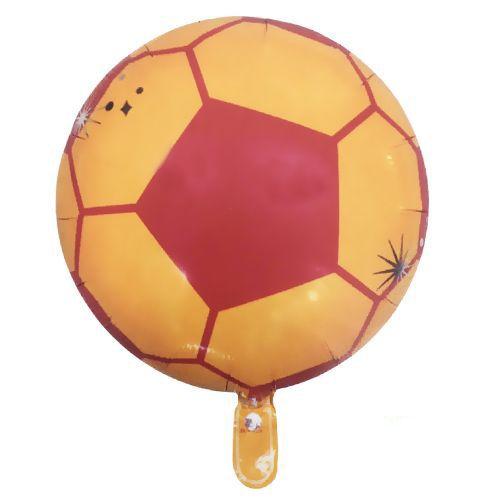 Sarı Kırmızı Futbol Topu Folyo Balon (45 cm), fiyatı