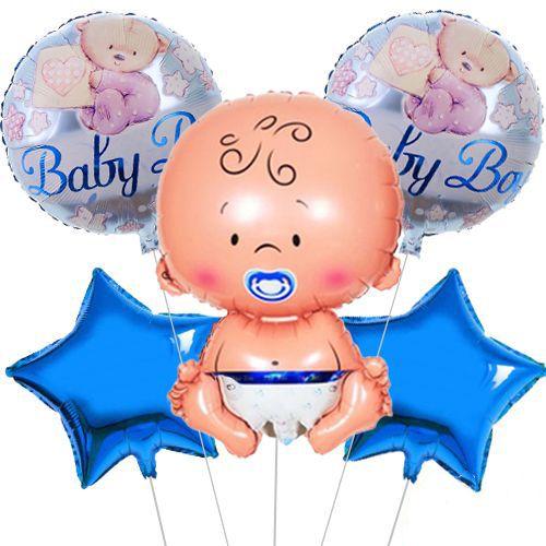 Baby Boy Ayıcıklı Folyo Balon Set 5'li, fiyatı