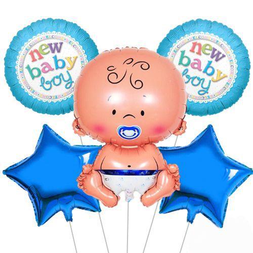 Baby Boy Folyo Balon Set 5'li, fiyatı