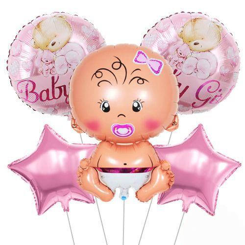 Baby Girl Ayıcıklı Folyo Balon Set, fiyatı