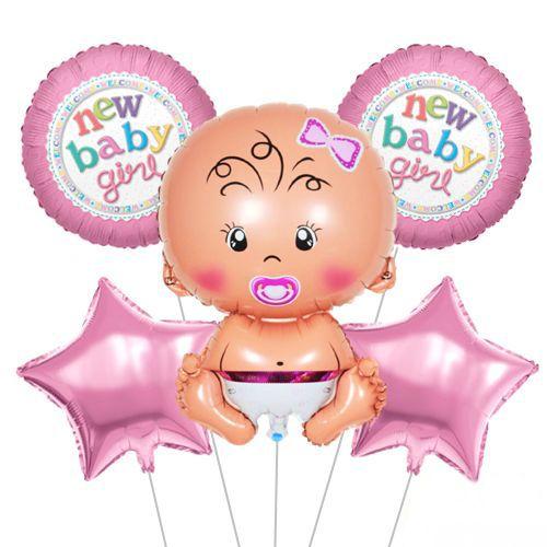 Baby Girl Folyo Balon Set, fiyatı