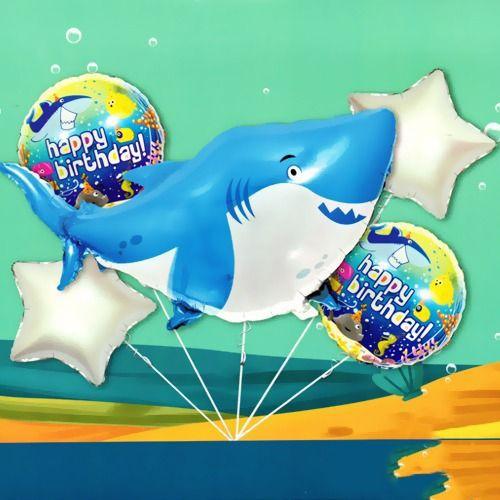 Baby Shark Folyo Balon Set 5'li, fiyatı