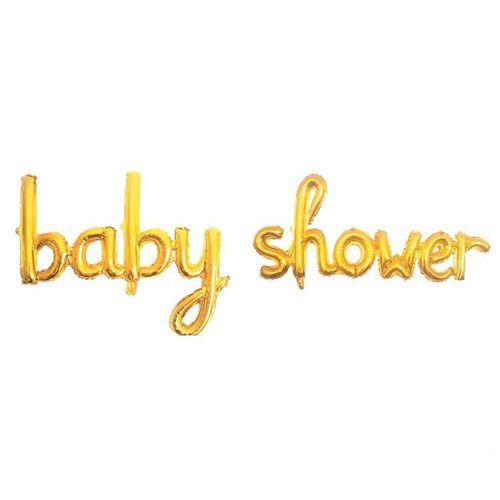 Baby Shower Folyo Balon Gold 210x44 cm, fiyatı