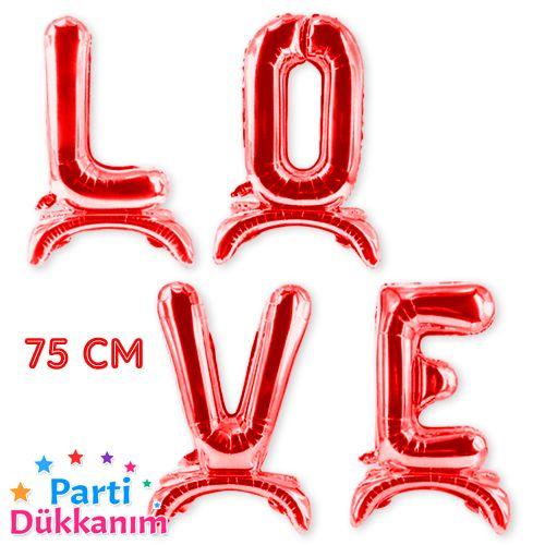 Love Folyo Balon Kırmızı (75 cm), fiyatı