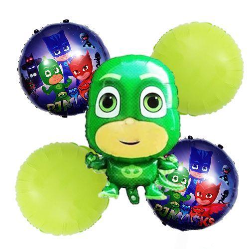 Pijamaskeliler Folyo Balon Seti Kertenkele 5'li, fiyatı