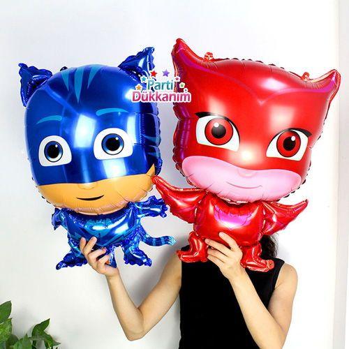 Pijamaskeliler Folyo Balon (3'lü), fiyatı