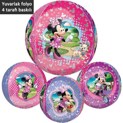 Minnie Mouse Folyo Balon 43x45 cm ORBZ, fiyatı