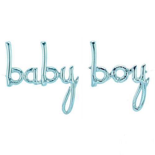 Baby Boy Folyo Balon 183*83cm, fiyatı