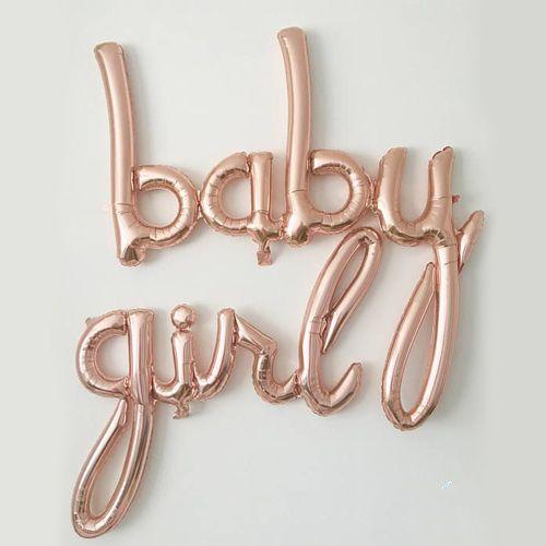 Baby Girl Folyo Balon 183*83 cm, fiyatı