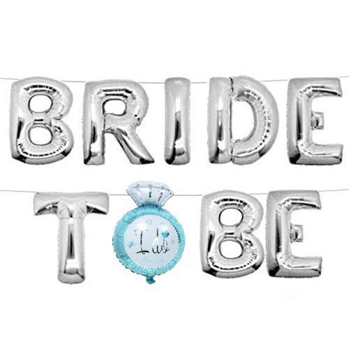 Bride To Be (I Do) Folyo Balon Gümüş 35 cm, fiyatı