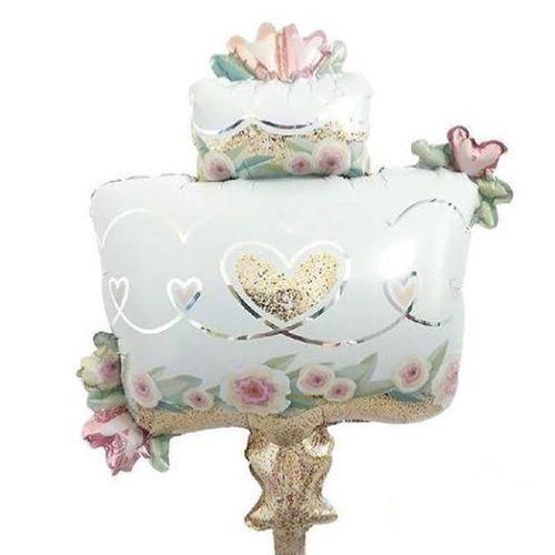 Düğün Pastası Folyo Balon 73x53 cm, fiyatı