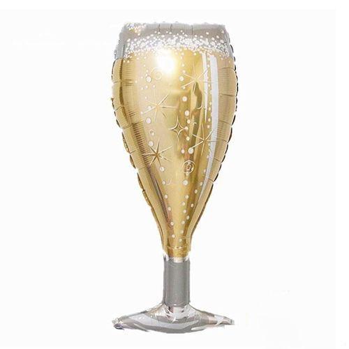 Gold Kadeh Folyo Balon 95x40 cm, fiyatı