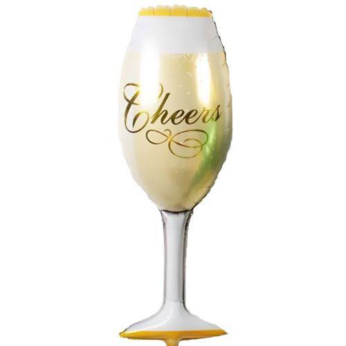 Şampanya Kadehi Folyo Balon 92x40 cm, fiyatı