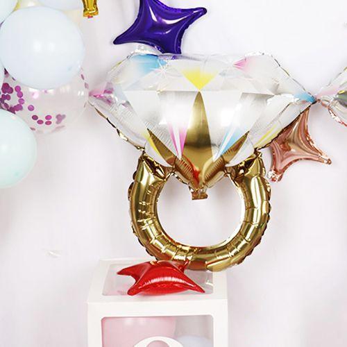 Tektaş Yüzük Folyo Balon Gold 65x60 cm, fiyatı